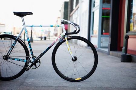 Bikes Natas hand building bikes in the