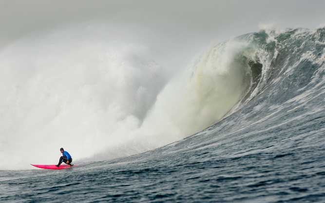 2012/13 Big Wave World Tour Champ, Greg Long, will be trying to keep the top spot when this years BWWT kicks off.