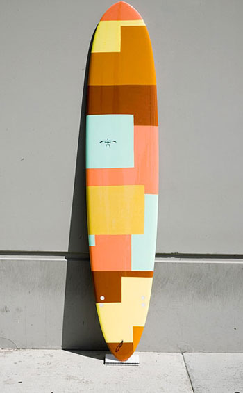 Hand Painted Roxy Surfboard   Roxy