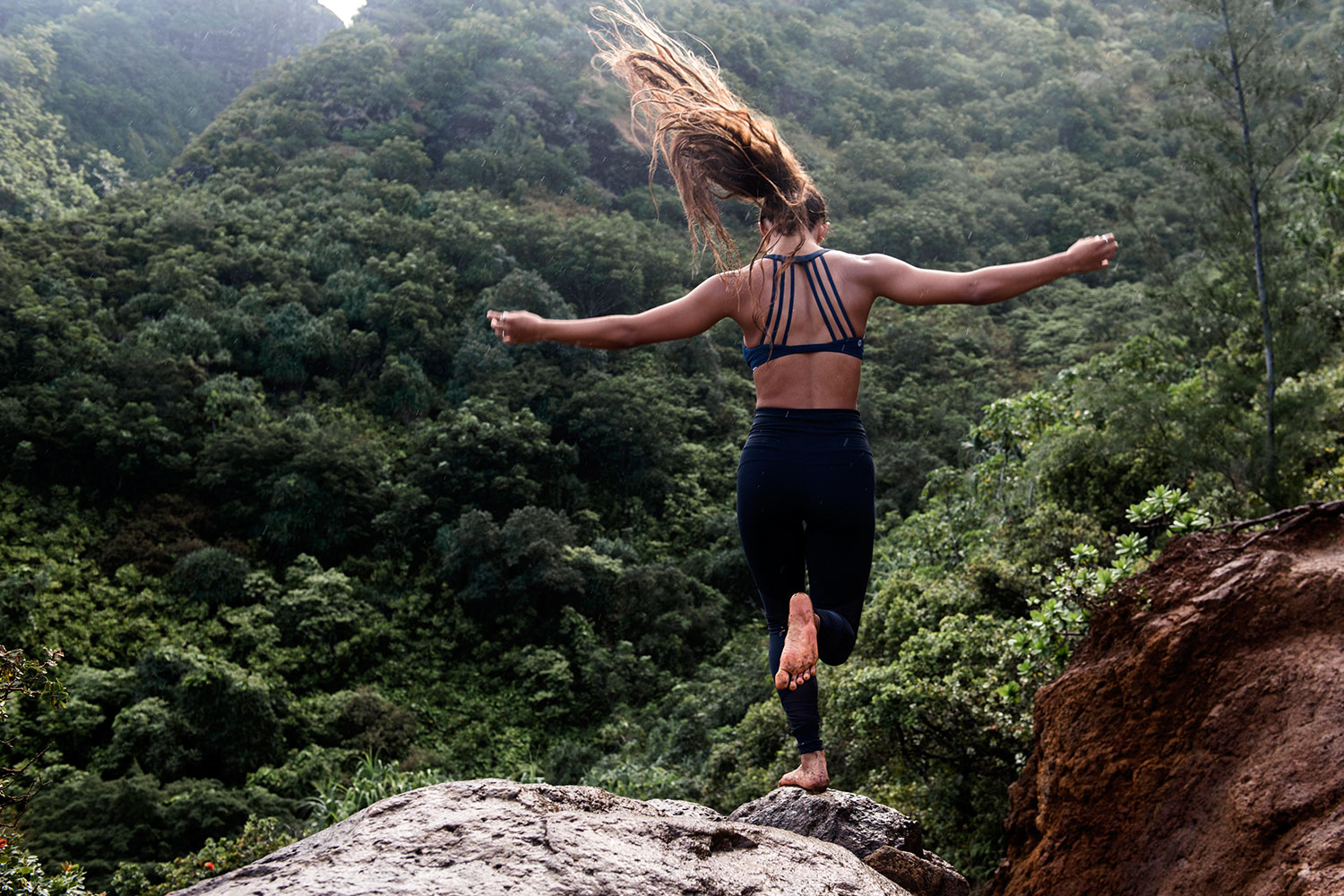 Take a Hike with Mainei Kinimaka along Kaua'i's Na Pali Coast