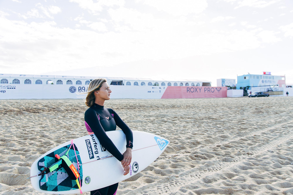 Meet Chelsea Tuach ROXYpro France wildcard