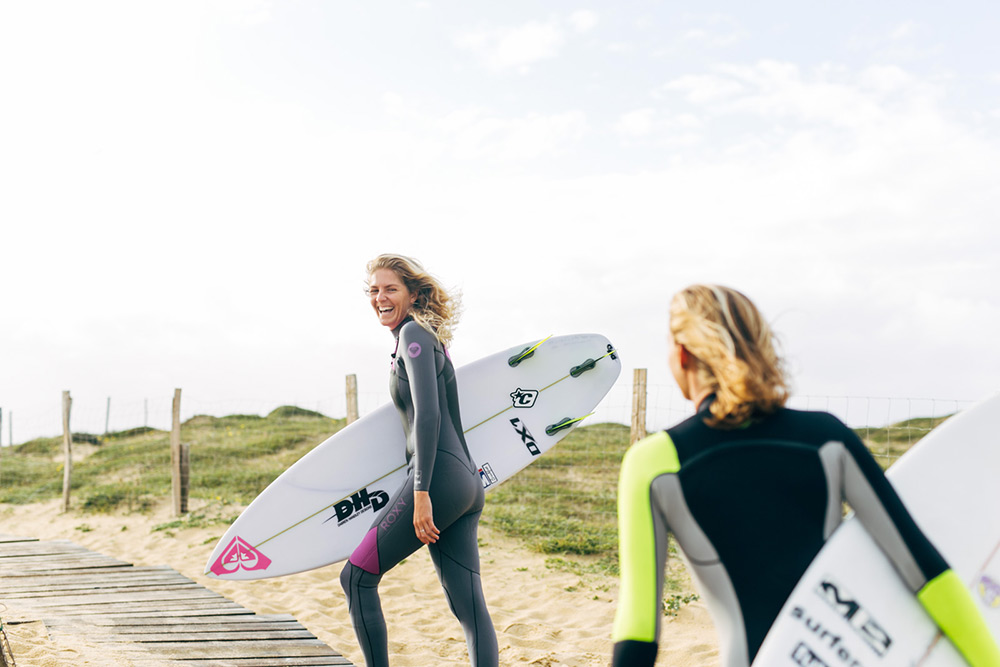Steph Back on Board for the #ROXYpro France