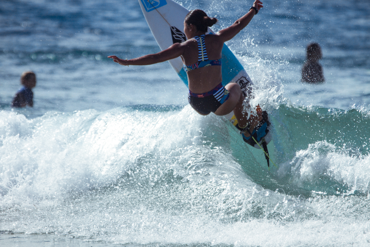 #ROXYpro Trials Training with Lisa Andersen