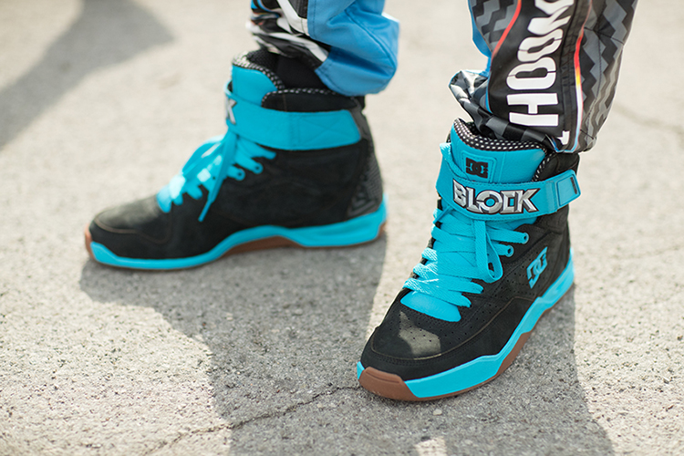 ken block presents gymkhana nine raw industrial playground dc shoes. Black Bedroom Furniture Sets. Home Design Ideas