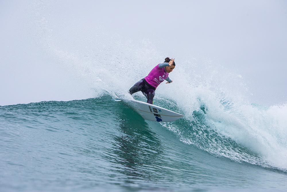 Thrills and Top Seed Spills at the #ROXYpro France Quarterfinals.