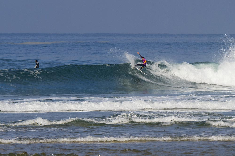 Congratulations Tyler Wright, winner of the 2015 ROXY Pro France!