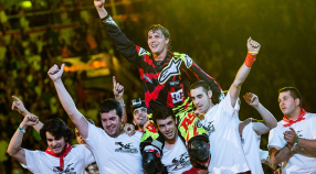 Tom Pages Wins X Fighters Madrid.