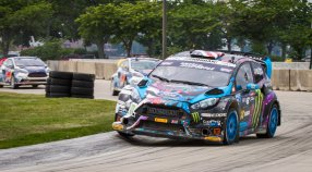 Ken Block Wins GRC Race in Detriot