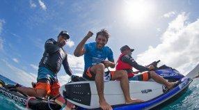 Jeremy Flores: Winner of Billabong Pro Tahiti
