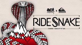 Ride The Snake, l'événement de snowboard d'une nouvelle génération.