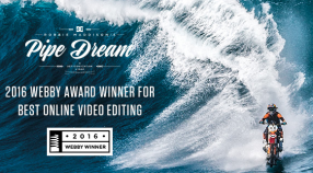 2016 WEBBY AWARD WINNER: DC SHOES 'PIPE DREAM' VIDEO