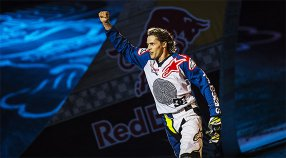 TOM PAGES WINS  MADRID's RED BULL  XFIGHTERS 2016 FOR THE 4TH TIME