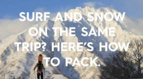Surf and snow on the same trip?