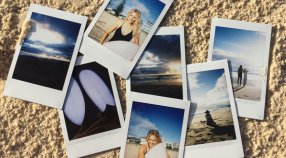 Take a #ROXYSneakPeek into our Shoot With Steph Gilmore on the Gold Coast