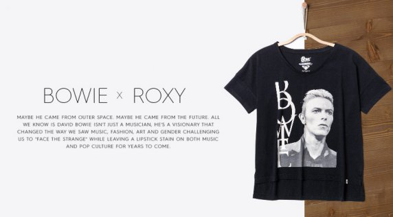 David Bowie x ROXY Collection