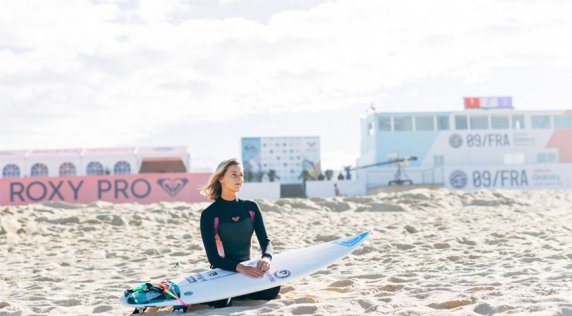 Meet Chelsea, the 2015 #ROXYpro France wildcard