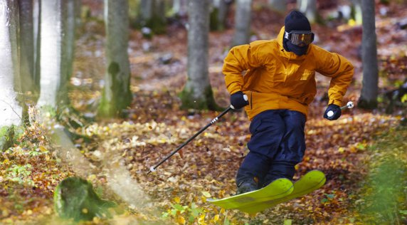 Candide Thovex doesn't wait for winter