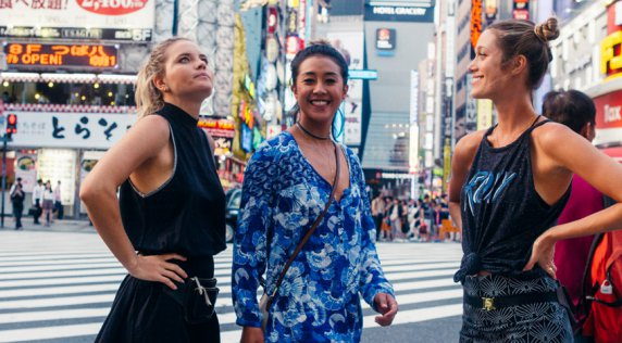 Postcards from Japan: 24 Hours in Tokyo with Monyca and the #3Amigos