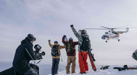 Travis Rice Takes An Ambitious Journey Around The North Pacific