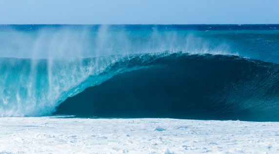 Jackson Butler Cuts His Teeth At Pipeline…Literally