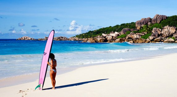 Take a #ROXYSneakPeek into our Seychelles Adventure