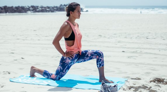 Warm Up for #ROXYfitness Gold Coast with Mainei Kinimaka
