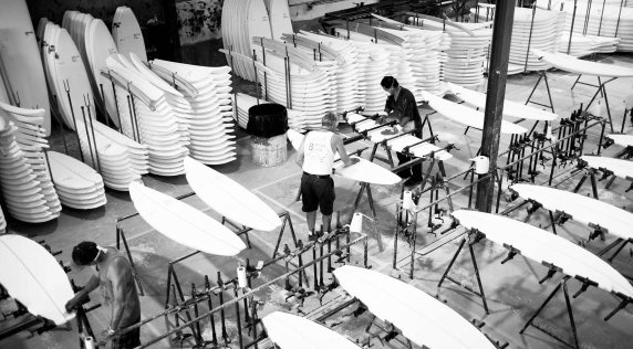 Where Surfboards Are Born