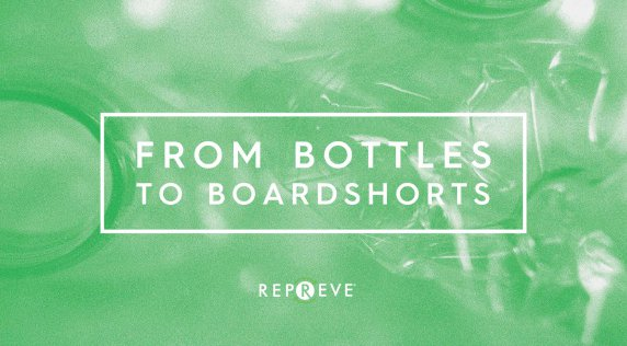 How Plastic Bottles Turn Into Boardshorts