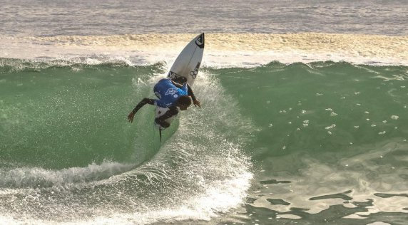 Mikey February Wins Third Straight WQS Event