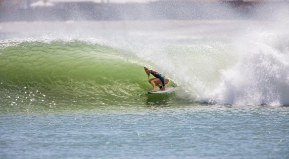 Welcome To The Future - Steph Gilmore Tests the Surf Ranch