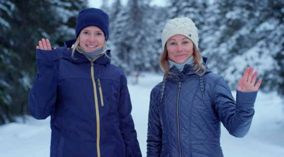 Talking Tech With Robin Van Gyn & Lena Stoffel #ROXYsnow