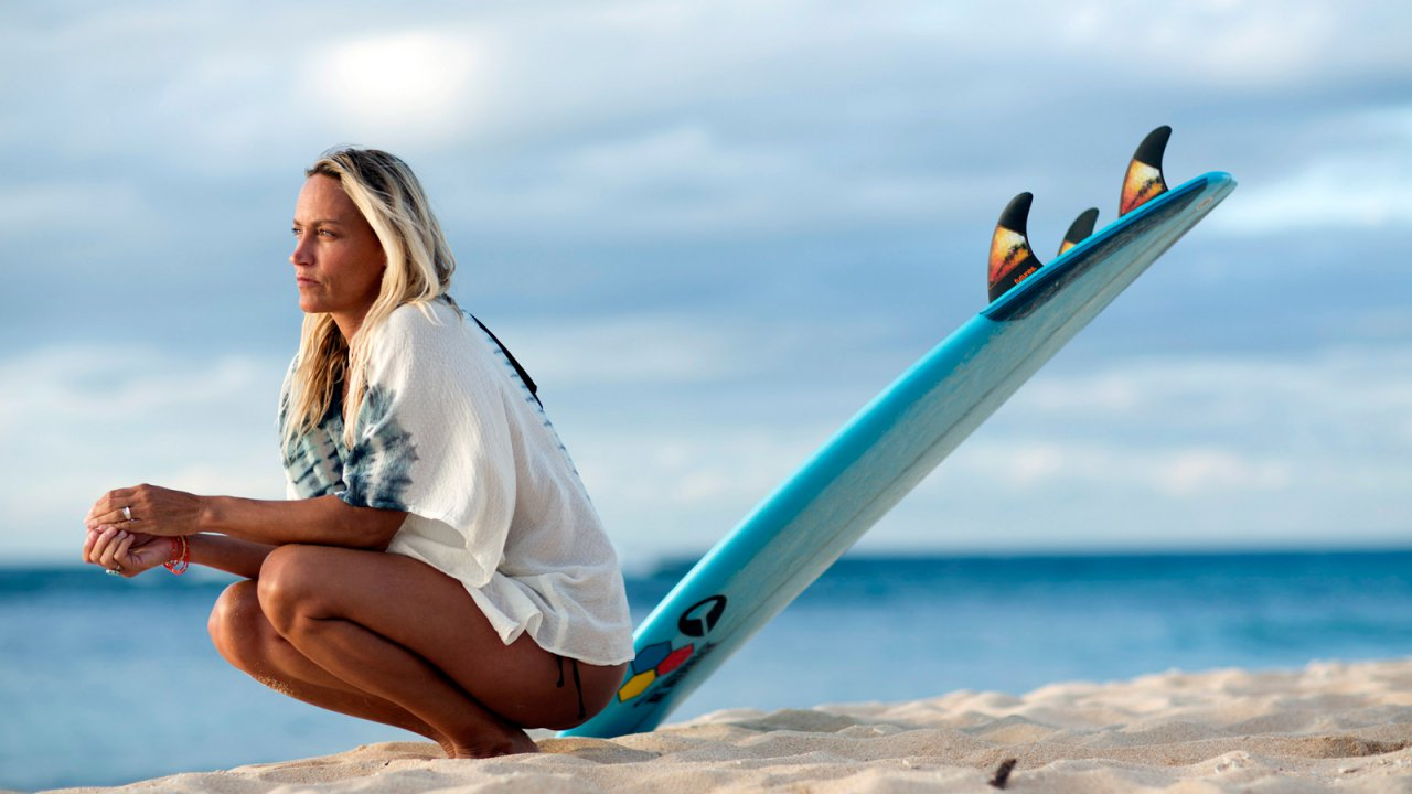 Lisa Andersen, (1969 – ) & Surfing