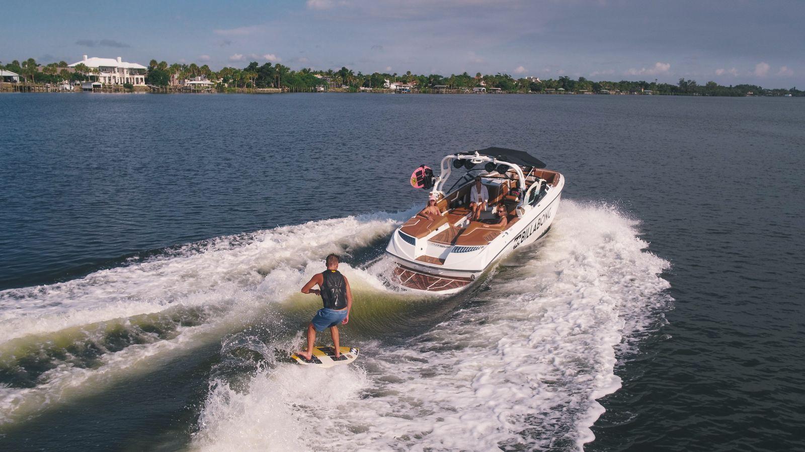 Win a Custom Billabong Nautique Boat | Billabong