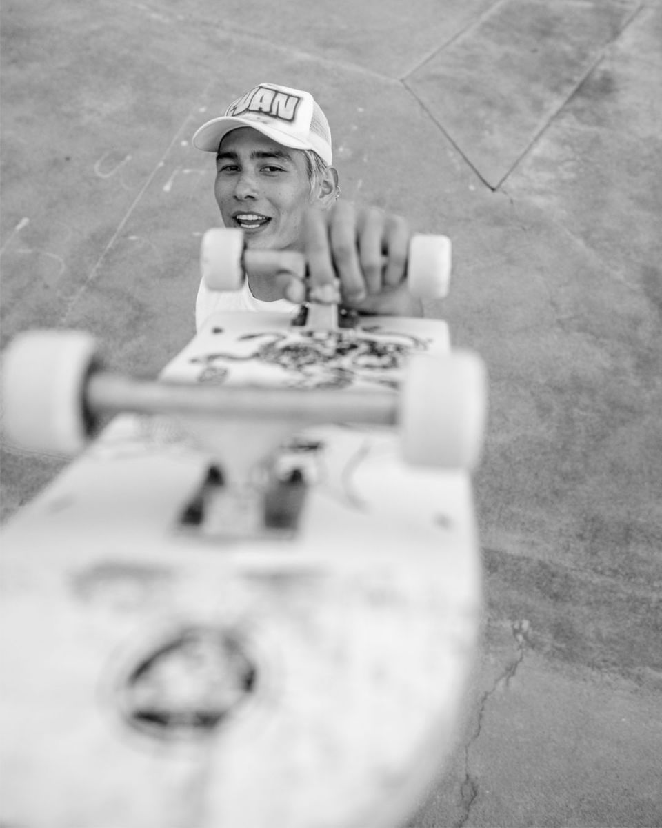 RVCA Welcome Evan Mock