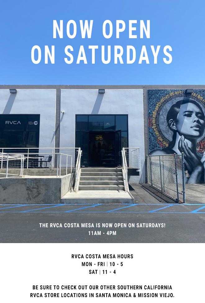 RVCA Costa Mesa Store
