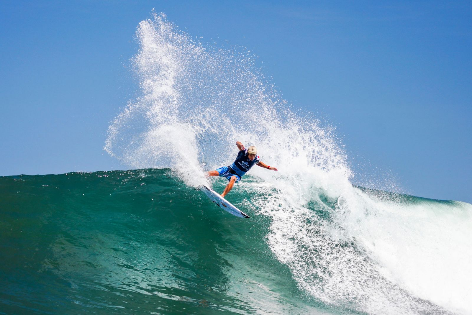 Kanoa Igarashi in action at the Corona Bali Protected CT