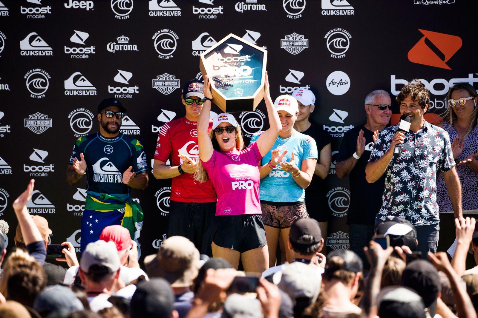 Caroline Marks Wins 2019 Gold Coast pro