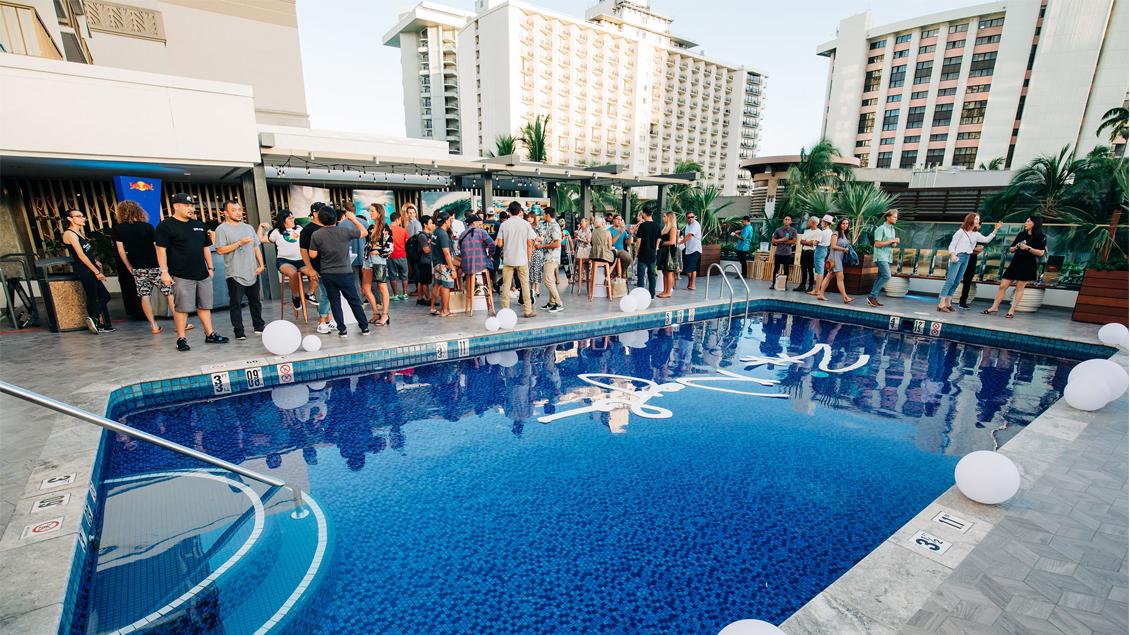 Zak Noyle | Waikiki Beachcomber Benefit | Rvca