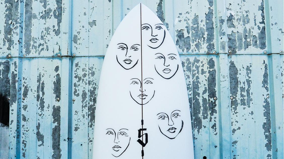 Spoe Surfboards x Johanna Olk