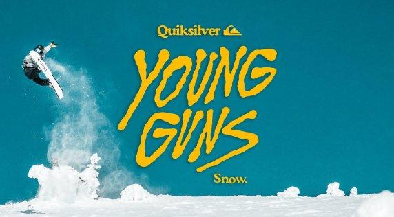 Miles Falcon Wins 2019 Quiksilver Young Guns Snow