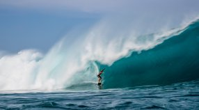 Koa Rothman Wins 2016 - 2017 Wave Of The Winter