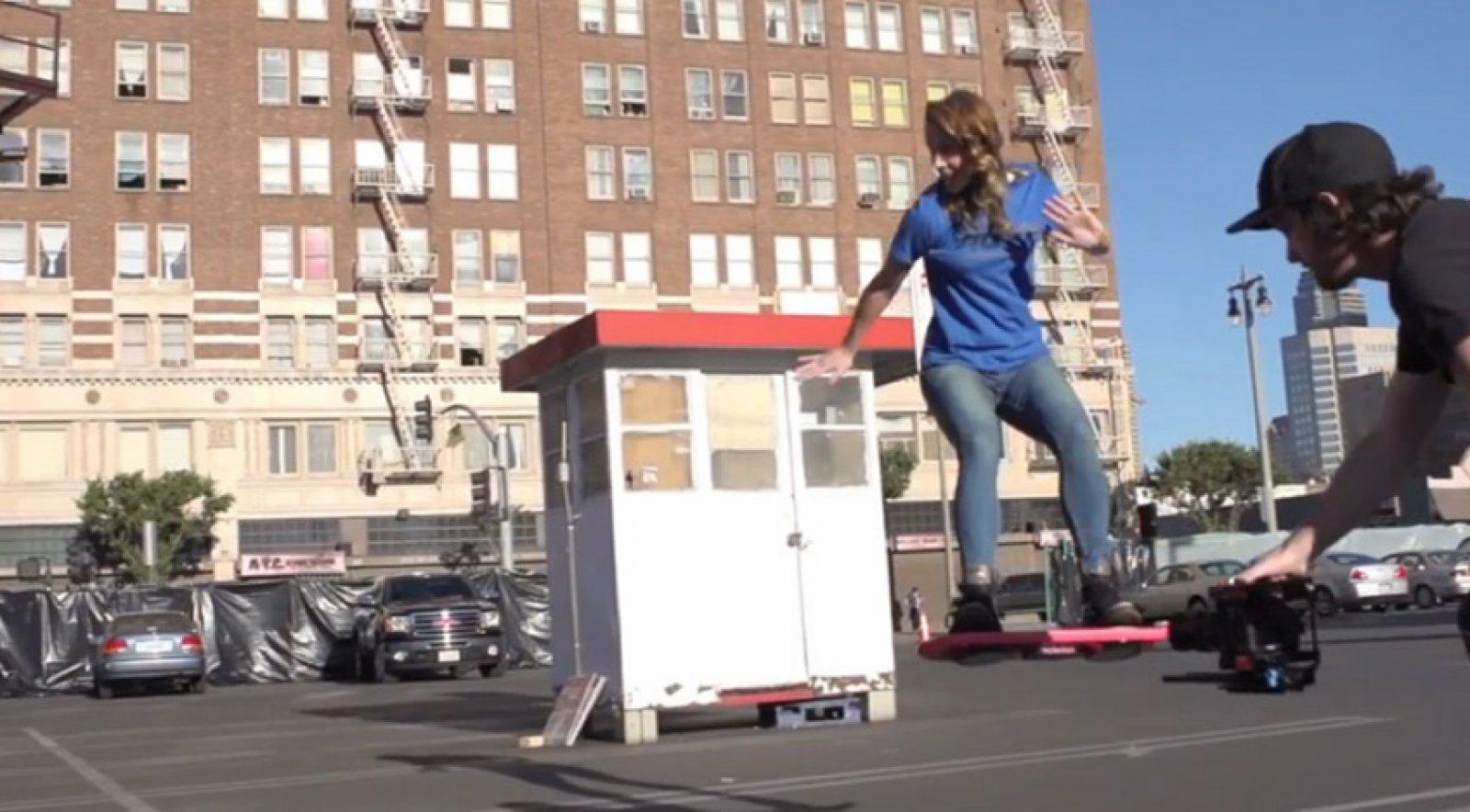 bca6361e6efca Finally: Tony Hawk unveils the Back To The Future Hoverboard ...