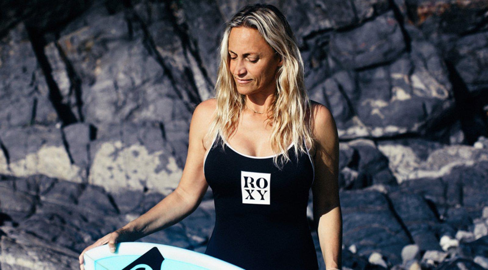 World Champion Surfer Lisa Anderson